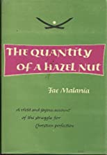 The quantity of a hazel nut