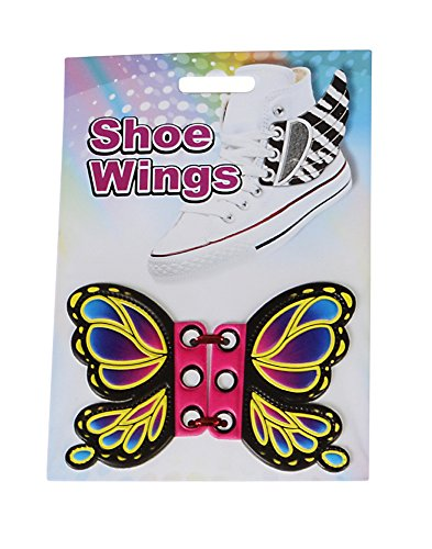 Rainbow Butterfly Shoe Wings Shwings Lace Boot Sneaker Costume Accessory