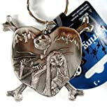 Disney the Nightmare Before Christmas Pewter Keychain