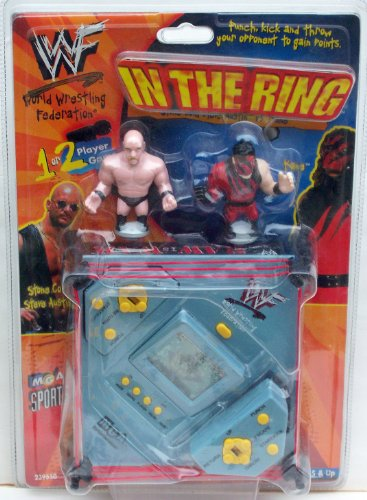 Buy Low Price MGA Entertainment WWF In the Ring Electronic Handheld Wrestling Game w/ Stone Cold Steve Austin Vs. Kane Figure (B003ZNCOKS)