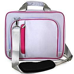 Vg Laptop Messenger Bag (Pink)