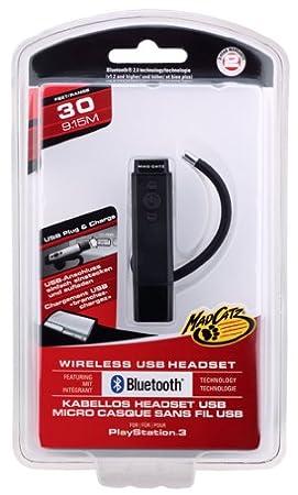 PS3 Premium Wired USB Headset - HeadCOM Pro