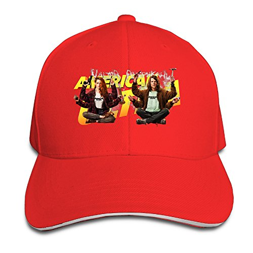 ACMIRAN American Ultra Poster Personalize Headband One Size Red (The Duff Trailer compare prices)