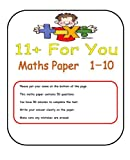 10 Full 11+ Maths Papers (also suitable for entrance exams) 11+ Test Papers