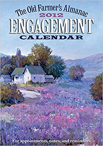 The Old Farmer's Almanac 2012 Engagement Calendar