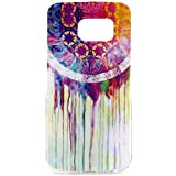 Vogue shop Galaxy S6 Edge Case, S6 tpu case,[Ultra Slim] [Perfect Fit] [Scratch Resistant] Fashion Color [Owl][Elephant][Hearts]Pattern Design Silicone TPU Skin Case Cover For Samsung Galaxy S6 Edge (Vogue Shop-Oil Dream)