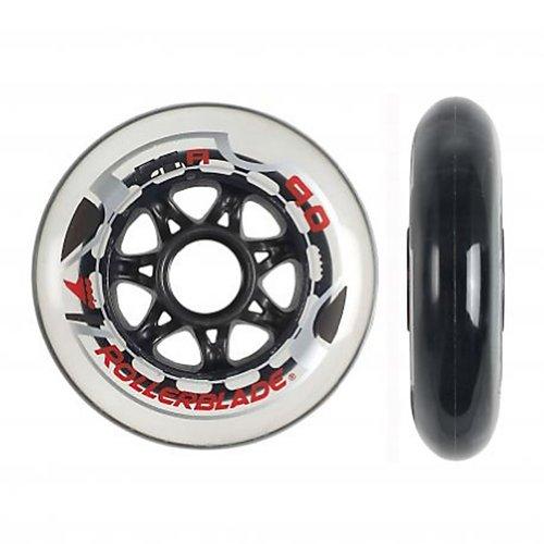 Buy Discount Rollerblade 90mm/84A Inline Skate Wheels - 8 Pack 2014