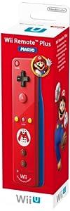 Wii U Remote Plus Mario Edition, rot
