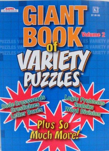 Cheap Kappa GIANT BOOK of VARIETY PUZZLES (vol 2) (B004FWWPV6)