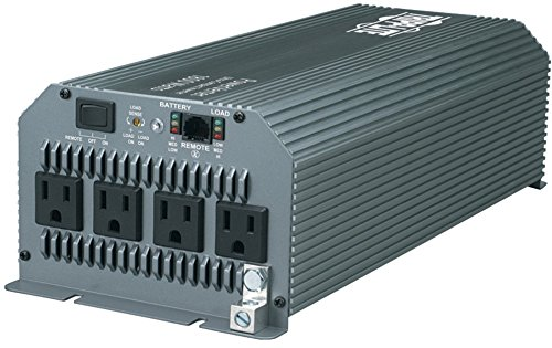 Tripp Lite - 1,800-Watt Ultra-Compact Power Inverter *** Product Description: Tripp Lite - 1,800-Watt Ultra-Compact Power Inverter 3,600W Max 1,800W Rms 3 Ac Outlets Dc Fusing Circuit Protection Converts 12V Dc Nominal Power To 120V Ac Current Lo ***