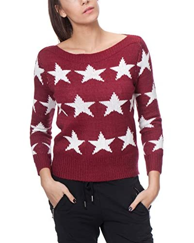 TANTRA Pullover bordeaux