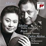シベリウス:ヴァイオリン協奏曲/ブルッフ:スコットランド幻想曲