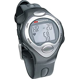 Bowflex Classic Strapless Heart Rate Monitor Watch (Black)