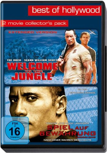 Best of Hollywood - 2 Movie Collector's Pack (Welcome to the Jungle / Spiel auf Bewährung) [2 DVDs]