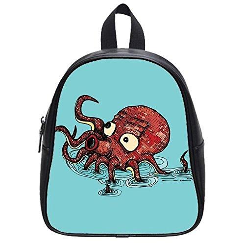 Emana custom Octopus backpack school Student Shoulder bag School Bag for kids