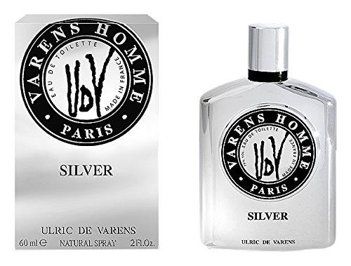 Ulric di Varens Silver Eau de Toilette 60 ml, per uomo