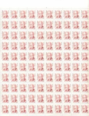 Virgina Apgar Sheet of 100 x 20 Cent US Postage Stamps NEW Scot 2179