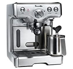 Breville the Duo-Temp Espresso Machine (Factory Reconditioned) made by HWI/Breville USA