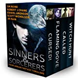 img - for Sinners & Sorcerers: Four Urban Fantasy Thrillers book / textbook / text book