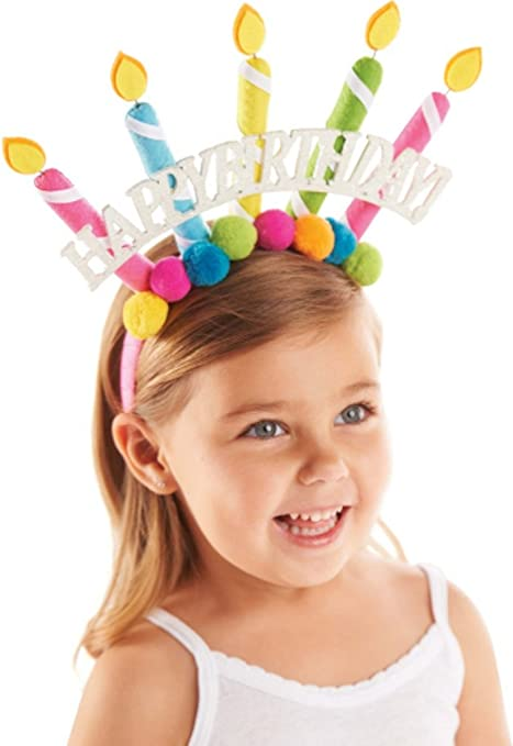Mud Pie Birthday Candle Headband 2T+