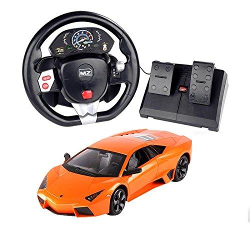 Lamborghini MZ Lamborghini Pedal Control  Steering Wheel Car 2028T