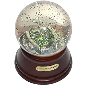 NFL Philadelphia Eagles Lincoln Financial Stadium Musical Snow Globe by Sports Collector