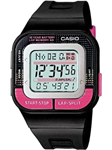 CASIO SDB1001BEF - Reloj de mujer de cuarzo, correa de resina color negro