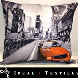 Cushion Cover New York Taxi Photograph