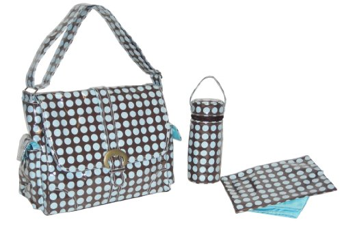 kalencom-fashion-borsa-fasciatoio-heavenly-dots-colore-cioccolato-blu