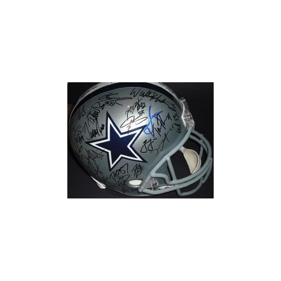 Dallas Cowboys 2010 Team Signed / Autographed Replica Helmet   Autographed NFL Helmets