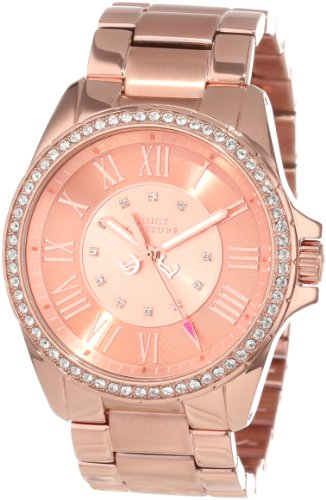 Juicy Couture Women's 1901011 Stella Rose Gold Plated Bracelet Watch