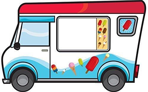 Splashin' Pool Party Ice Cream Truck Stand-In by BirthdayExpress