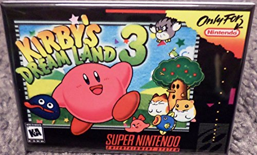 Kirby's Dream Land 3 SNES Game Box 2