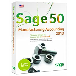 Sage 50 Premium Accounting for Manufacturing 2013 5-Users