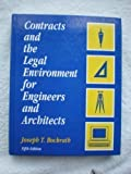 img - for Contracts And The Legal Environment for Engineers and Architects 5th edition by Bockrath, Joseph T. (1994) Hardcover book / textbook / text book
