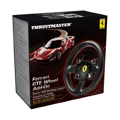 thrustmaster ferrari gte f458 wheel add on for ps3 ps4 pc. Black Bedroom Furniture Sets. Home Design Ideas
