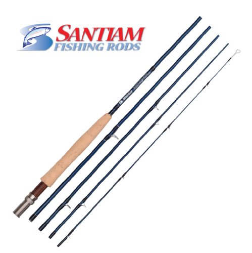 Santiam Fishing Rods Travel Fly Rod 5 Piece 9' 5/6 Line WT Graphite Fly Rod