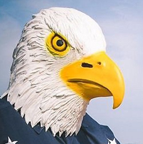 Latex Bald Eagle Mask - by Archie McPhee