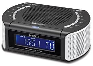 roberts dreamtime dab fm rds digital clock radio with dual alarm tv. Black Bedroom Furniture Sets. Home Design Ideas