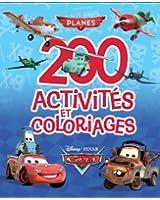 200 activités et coloriages Cars et Planes