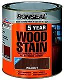 Ronseal 5YWW750 750ml 5 Year Woodstain - Walnut