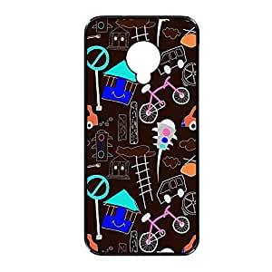 Vibhar printed case back cover for Samsung Galaxy S4 SmileRedLight