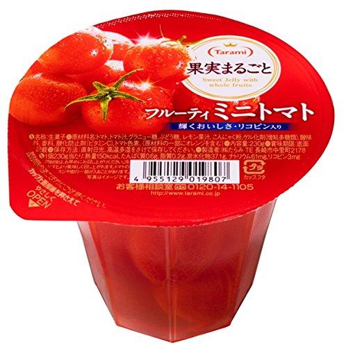 たらみ  果実まるごとフルーティミニトマト 230g×6個