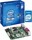 Intel D945GCLF Essential Series Mini-ITX DDR2 667 Intel Graphics Integrated Atom Processor Desktop Board - Retail