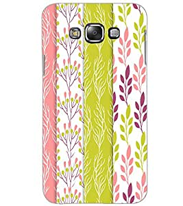SAMSUNG GALAXY GRAND MAX LEAFES PATTERN Back Cover by PRINTSWAG