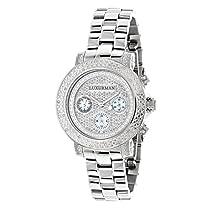 Womens Diamond Watch 0.3ct Luxurman Diamond Watch