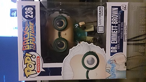October 2015 Time Travel Exclusive Funko Pop #236 Back To Th