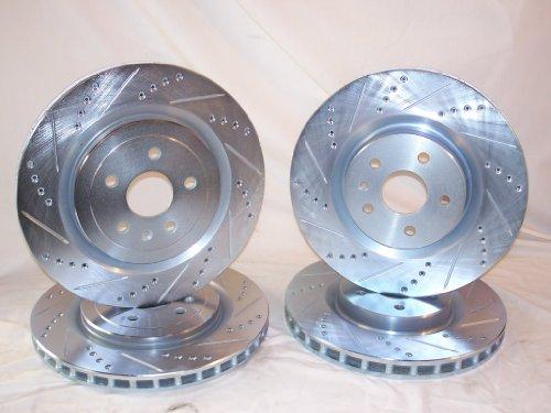 2012-2013 Chevrolet Camaro ZL1 Front & Rear Brake Disc Rotors +Pads (Camaro Zl1 Brakes compare prices)