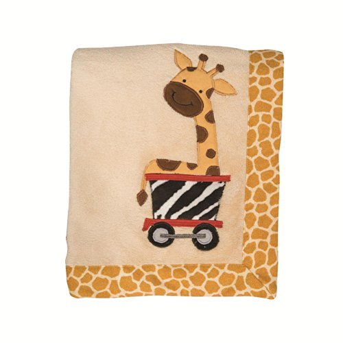Lambs & Ivy Safari Express Bedding Collection (Blanket) - 1