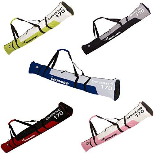 BRUBAKER-Carver-Pro-Housse--skis-rembourre-pour-1-Paire-de-skis-et-Btons-170-cm-ou-190-cm